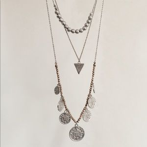 Forever 21 Long + Layered Necklace